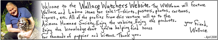 Wallace and the donation note